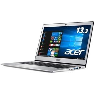 ds-1945562 Acer Swift 1 SF113-31-A14Q/S (Celeron N3350/4GB/128GBeMMC/ドライブなし/13.3/ピュアシルバー) SF113-31-A14Q/S|kadenya