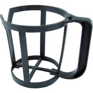 ●使い捨てカップをセットする取っ手付きホルダーです