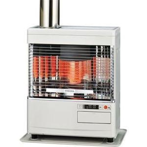 コロナ SV-V4518M-W ポット式輻射 Vシリーズ<別置きタンク式(別売)>【暖房のめやす:木造12畳/コンクリート19畳】 (SVV4518MW)|kadenya