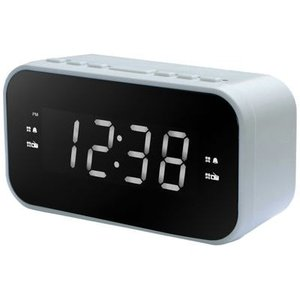 WINTECH CR-X1WL AM/FMクロックラジオ(ホワイト) (CRX1WL)|kadenya