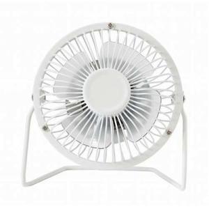 アイ・エル・シー 4580253293153 USB静音大量風ミニ扇風機 ホワイト 1台|kadenya