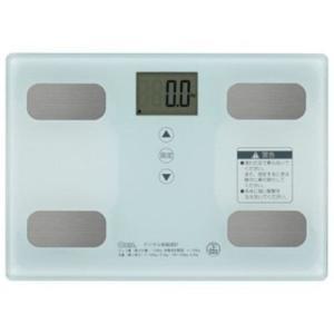 ●オーム電機 HB-KG11R1-W 体重体組成計 ホワイト