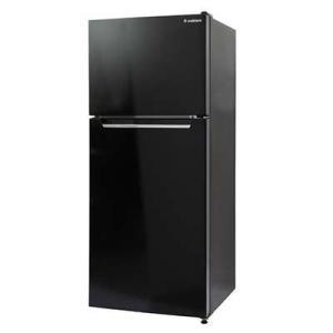 エスキュービズム RM-118L02BK 左右ドア開きに対応 2ドア 冷凍/冷蔵庫 118L (ブラック) (RM118L02BK)|kadenya