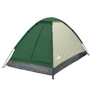 ハック 4580278059925 組立式2人用ドームテント グリーン HAC-2115 (テント)|kadenya