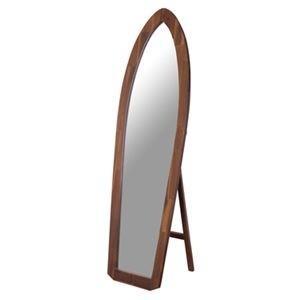 <title>ds-2173556 スタンドミラー 全身姿見鏡 幅48cm 木製 5mm飛散防止ミラー サーフミラー 〔ベッドルーム 寝室 ギフ_包装 玄関 リビング〕 代引不可</title>