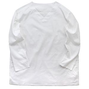 ds-2331994 ロシア軍放出スリーピングシャツ ホワイト 未使用 デットストック 42 (ds2331994)|kadenya