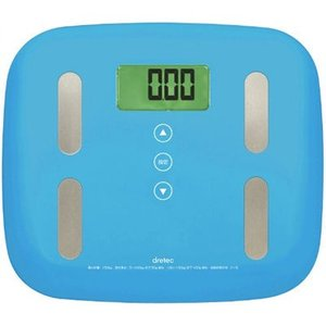 ●体重・体脂肪率・体水分率・筋肉量・基礎代謝量・推定骨量・内臓脂肪レベルの7項目を測定