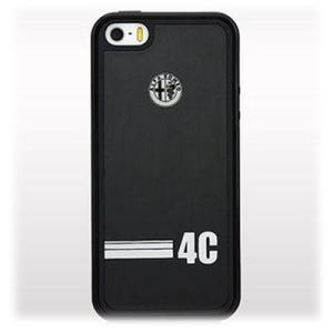 Alfa Romeo(アルファロメオ) TPUPCIP54CD1-BK iPhone5s/5専用ハードケース ブラック black AR-TPUPCIP5-4C/D1-BK (TPUPCIP54CD1BK) kadenya