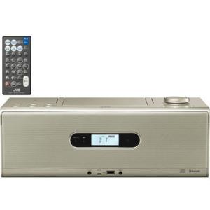 ビクター RD-W1-N Bluetooth/NFC機能搭載CDポータブルシステム (RDW1N)(シャンパンゴールド) (RDW1N)|kadenya