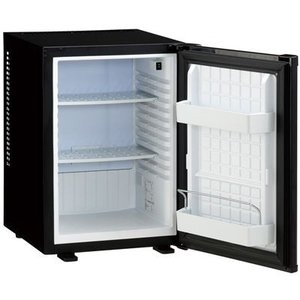 三ツ星貿易 ML-640-B ペルチェ式40L冷蔵庫(ブラック) (ML640B)