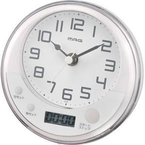 【納期目安:1週間】MAG T-721-WH お風呂タイマー「コロン」 (T721WH)|kadenya