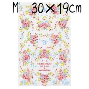 クリアパック OPP袋 ローズガーデンM 10枚入り手作りお菓子材料・包装用品バレンタインチョコラッピング|kaderia