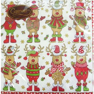 ペーパーナプキン[メール便OK] セーターパーティー  ランチサイズ・20枚入りクリスマス ディナー...