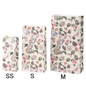 ラッピング用 用品袋 ヴィクトリア SSサイズ 洋品袋 業務用紙袋 マチあり紙袋紙袋・ラッピング資材・ギフト|kaderia