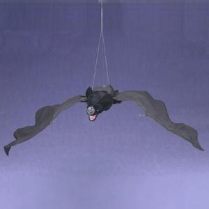 限定ハロウィン飾り ムービングコウモリハロウィン天井飾り・音に反応して目が光って首を振って羽ばたく!|kaderia