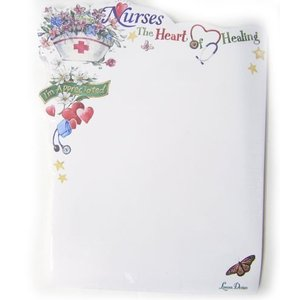 Lissom Design 付箋メモ ナースSelf Adhesive Sheetsハート|kaderia