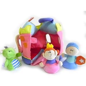 廃番在庫限り 知育玩具 RUSS プリンセス キャッスル[RUSS]アニマルハウスシリーズ女の子向け出産祝いギフト|kaderia