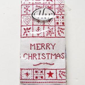 ペーパーナプキン[メール便OK][ポケットサイズ]merry christmas[Ihr]ドイツ製 ハンキーペーパーナフキン・紙ナプキン|kaderia