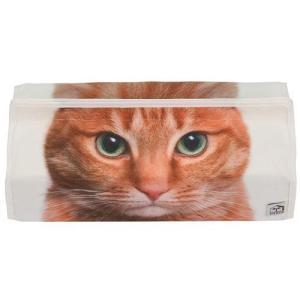 tenteアニマルフェイス ティッシュボックスカバー トラネコ  [ETOILE]エトワール [HEMING'S]猫・キャット kaderia