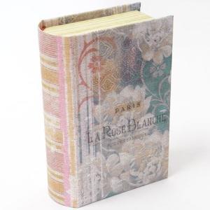 [Punch Studio]ミニミニブック型BOX ラ・ローズブランシェ本型ボックス・小物入れ・ラッピング・ギフトボックス|kaderia