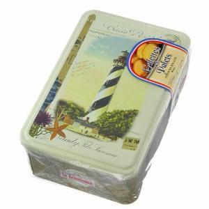 ラ・トリニテーヌ 灯台 ティン缶輸入お菓子 フランス製・缶入り・ガレット・パレ・ビスケット・洋菓子|kaderia