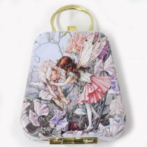 ミニバッグ缶 フラワーフェアリー花帽子[Cicely Mary Barker]9802-822シシリーメアリーバーカー妖精|kaderia