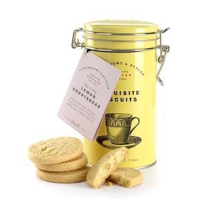 輸入菓子 レモンショートブレッド イエロー缶  カートライトアンドバトラー [Cartwright&Butler]C&B ビスケット・密閉容器・クッキー|kaderia