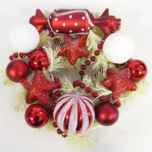 クリスマス リースSSキャンディースゥイーティー冬リース[その他]クリスマス