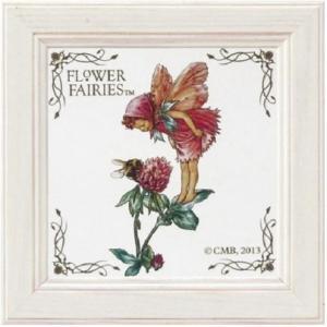 フラワーフェアリーズ ミニアート レッドクローバー[Flower Fairies]フラワーフェアリー妖精・アート 壁掛け・花柄|kaderia