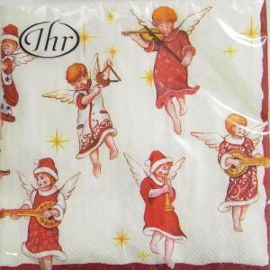 ペーパーナプキン[メール便OK]ランチサイズ エンジェルズ コンサートクリスマス[IHR]ドイツ 紙ナプキン・ペーパーナプキン