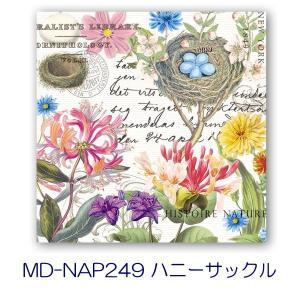 Michel Design Works  2015 ペーパーナプキン[メール便OK]●カクテルサイズ●2枚入り 鳥・花・紙ナプキン・デコパージュミッシェルデザインワークス|kaderia|07