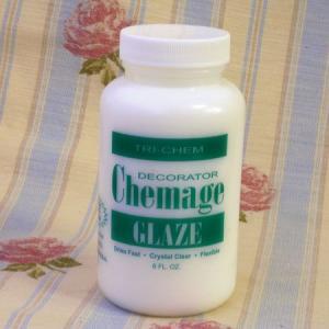 SALE! ケマージュ デコパージュ用のりDecorator Chemage 240ml〜アメリカ製デコパージュのり・溶剤「上履きデコのつくり方」掲載商品|kaderia