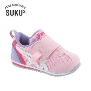 asics SUKU2 アシックス スクスク アイダホ BABY KT-ES 2 ピンク/ホワイト 1144A082-700 kadotation