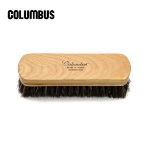 COLUMBUS コロンブス ホースヘア ブラシ 靴用馬毛ブラシ HORSEHAIR BRUSH kadotation