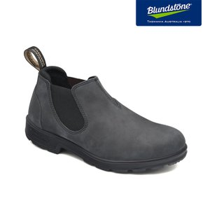 Blundstone ブランドストーン BS2035 Rustic Black ラスティックブラック ヌバック ローカット サイドゴアブーツ BS2035056|kadotation