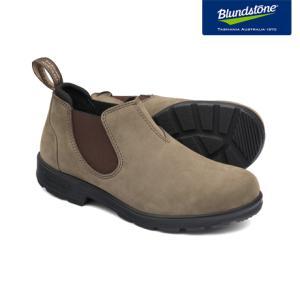 Blundstone ブランドストーン BS2037 Stone ストーン ヌバック ローカット サイドゴアブーツ BS2037007|kadotation