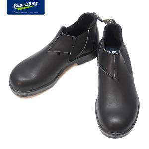 Blundstone ブランドストーン BS2039 Black ブラック スムースレザー ローカット サイドゴアブーツ BS2039009|kadotation