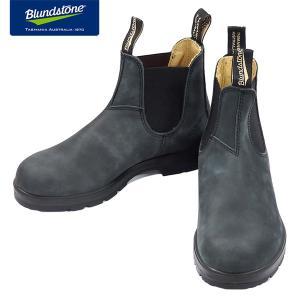 Blundstone ブランドストーン BS587 Rustic Black ラスティックブラック ヌバック サイドゴアブーツ BS587056|kadotation