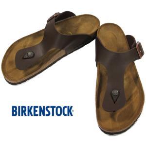 BIRKENSTOCK RAMSES Dark Brown ビルケンシュトック ラムゼス ダークブラウン ビルコフロー レギュラー幅 GC044701 kadotation