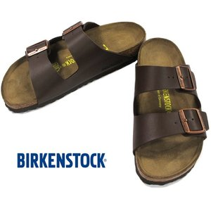 BIRKENSTOCK ARIZONA Dark Brown ビルケンシュトック アリゾナ ダークブラウン ビルコフロー ナロー幅 GC051703 kadotation