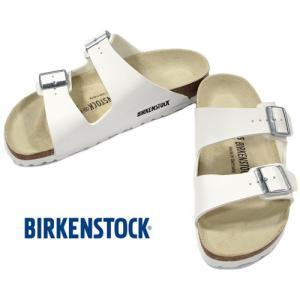 BIRKENSTOCK ARIZONA White ビルケンシュトック アリゾナ ホワイト ビルコフロー ナロー幅 GC051733 kadotation