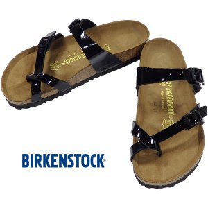 BIRKENSTOCK MAYARI Black Patent ビルケンシュトック マヤリ ブラック パテント レギュラー幅 GC071091 kadotation