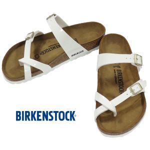 BIRKENSTOCK MAYARI White Patent ビルケンシュトック マヤリ ホワイト パテント レギュラー幅 GC1005280 kadotation