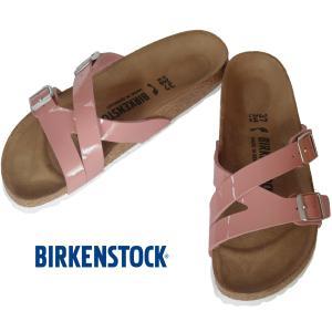 BIRKENSTOCK YAO BALANCE Patent Old Rose ビルケンシュトック ヤオ バランス オールドローズ パテント ナロー幅 GC1016073 kadotation