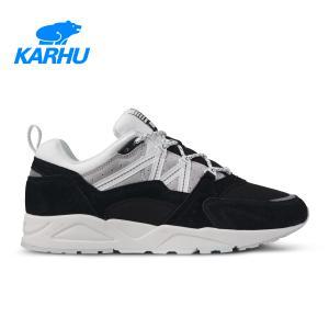 KARHU カルフ FUSION 2.0 フュージョン 2.0 Jet Black/Dawn Blue ジェットブラック/ドーンブルー KH804097|kadotation