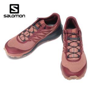 SALOMON SENSE RIDE 4 W サロモン センスライド 4 ウィメンズ Brick Dust/India Ink/Sirocco 413055|kadotation