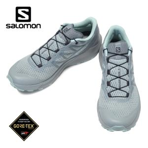 SALOMON SENSE RIDE 4 GORE-TEX INVISIBLE FIT W サロモン センスライド 4  ゴアテックス インヴィジブル ウィメンズ Slate/Monumento/Pastel Turquoise|kadotation