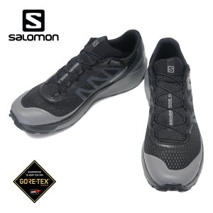 SALOMON SENSE RIDE 4 GORE-TEX INVISIBLE FIT サロモン センスライド 4 ゴアテックス インヴィジブル フィット メンズ Black/Quiet Shade/Black 413071|kadotation