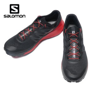 SALOMON SENSE RIDE 4 サロモン センスライド 4 メンズ Black/Goji Berry/Phantom 413781|kadotation