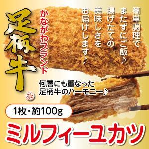 足柄牛ミルフィーユカツ 国産牛 お肉屋さんのお惣菜|kadoyabokujou